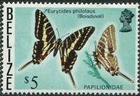Belize 1974 Butterflies of Belize o