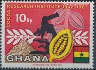 Ghana 1968 Ghana's Cocoa Production c