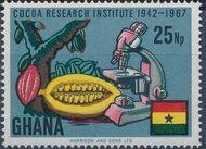 Ghana 1968 Ghana's Cocoa Production d