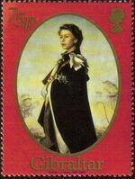 Gibraltar 2002 H.M. Queen Elizabeth II Golden Jubilee e