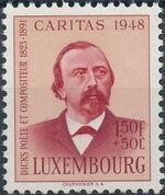Luxembourg 1948 Edmond de La Fontaine b