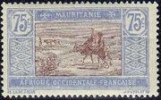 Mauritania 1913 Pictorials n