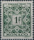 Monaco 1946 Postage Due Stamps d