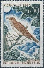 Monaco 1962 Protection of Useful Birds f