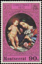 Montserrat 1973 Christmas d