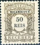 Mozambique 1904 Postage Due Stamps e