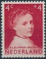Netherlands 1957 Child Welfare Surtax - Girls' Portraits a