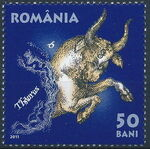 Romania 2011 Zodiac Signs (1st Group) b