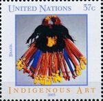 United Nations-New York 2003 Indigenous Art e