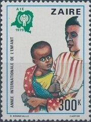 Zaire 1979 International Year of the Child f