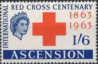Ascension 1963 Red Cross Centenary b