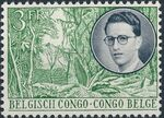Belgian Congo 1955 King Baudouin First Trip to Congo f