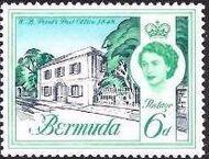 Bermuda 1962 Definitive Issue f