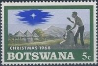 Botswana 1968 Christmas c
