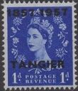 British Offices in Tangier 1957 Centenary Overprint (1857-1957) b