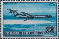 Burundi 1967 Opening of the Jet Airport at Bujumbura and International Tourist Year c