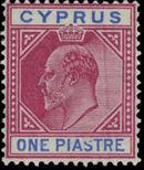 Cyprus 1904 King Edward VII b
