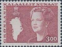 Greenland 1988 Queen Margrethe II a
