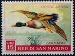 San Marino 1959 Birds c