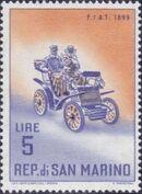 San Marino 1962 Automobiles (pre-1910) e