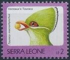 Sierra Leone 1992 Birds c