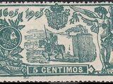 Spain 1905 Don Quixote Issue