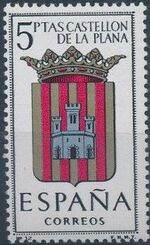 Spain 1962 Coat of Arms - 1st Group l