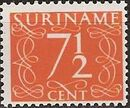 Surinam 1948 Numerals h