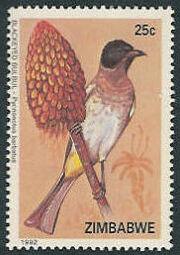 Zimbabwe 1992 Birds of Zimbabwe a