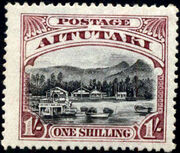 Aitutaki 1920 Pictorial Definitives f