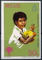 Belize 1980 International Year of the Child j