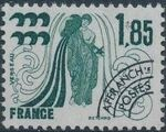 France 1977 Signs of the Zodiac - Precanceled (1st Issue) d