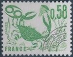 France 1978 Signs of the Zodiac - Precanceled (2nd Issue) a