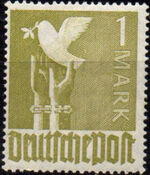 Germany-Allied Occupation 1947 2nd Allied Control Council Issue m