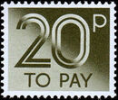 Great Britain 1982 Postage Due Stamps g