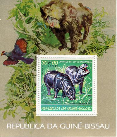 Guinea-Bissau 1978 Endangered Species l