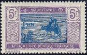 Mauritania 1913 Pictorials q