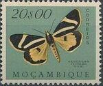 Mozambique 1953 Butterflies and Moths t