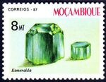 Mozambique 1987 Minerals of Mozambique (2nd Group) b