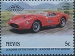 Nevis 1985 Leaders of the World - Auto 100 (3rd Group) l