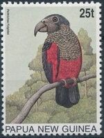 Papua New Guinea 1996 Parrots a