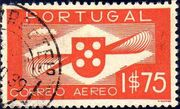 Portugal 1936 Symbol of Aviation (Air Post Stamps) b