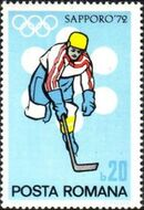 Romania 1971 Olympic Games Sapporo' 72 b