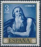 Spain 1963 Painters - José de Ribera h