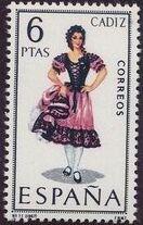 Spain 1967 Regional Costumes Issue k