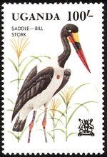 Uganda 1982 Birds d