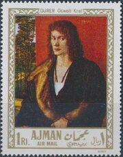 Ajman 1968 Paintings b