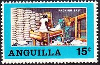 Anguilla 1969 Salt Industry b