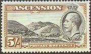 Ascension 1934 George V and Sights of Ascension j