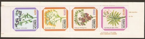 Azores 1982 Azores Flowers (2nd Issue) f